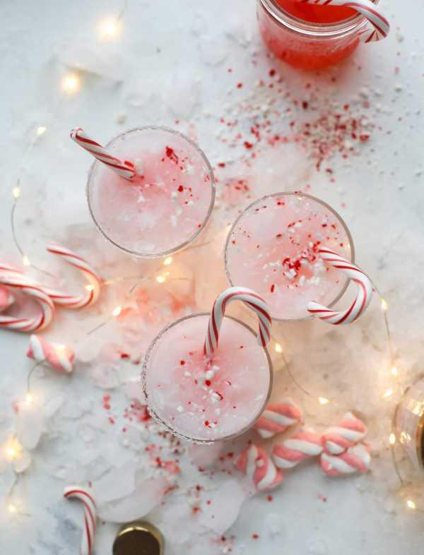 Нежно-розовый коктейль